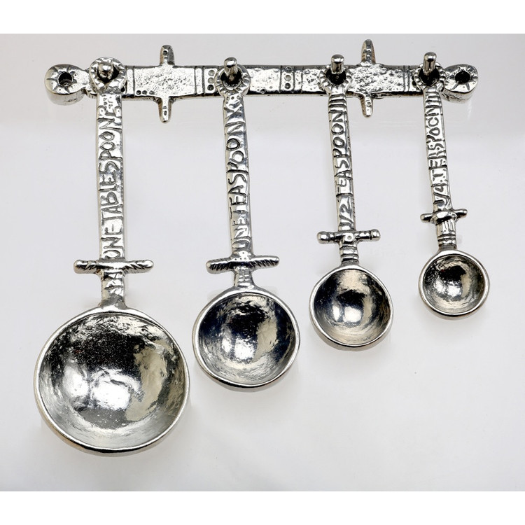 Celtic Measuring Spoons on Pewter Strip